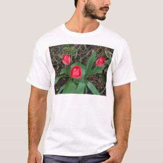 赤いチューリップ Tシャツ