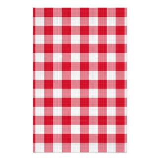 赤いテーブルクロス 便箋