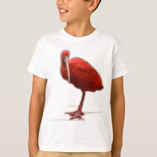 赤いトキ亜科はあなたの生命の鳥の恋人にこれを与えます Tシャツ
