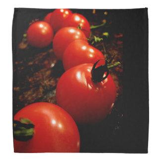 赤いトマト バンダナ
