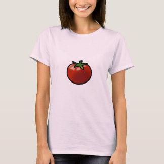 赤いトマト Tシャツ