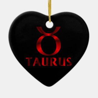 赤いトーラスの占星術の記号 セラミックオーナメント