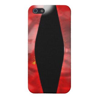 赤いドラゴンの目 iPhone SE/5/5sケース