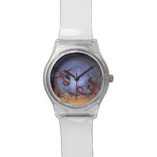 赤いドラゴンの腕時計の誕生 腕時計