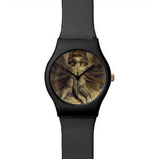 赤いドラゴンの腕時計 腕時計