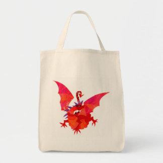 「赤いドラゴン」のトートバック トートバッグ