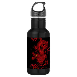 赤いドラゴン ウォーターボトル