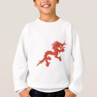 赤いドラゴン(ブータン) スウェットシャツ