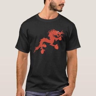 赤いドラゴン(ブータン) Tシャツ