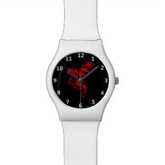 赤いドラゴン 腕時計