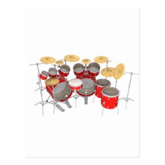 赤いドラムキット: 10部分: ポストカード