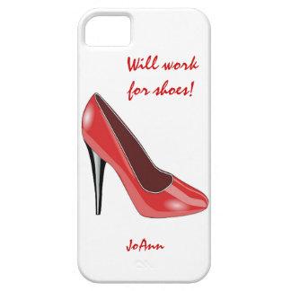 赤いハイヒールの靴のiPhone 5の箱 iPhone 5 カバー