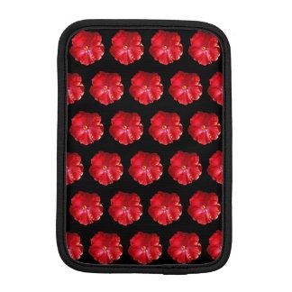 赤いハイビスカスのiPad Miniスリーブ iPad Miniスリーブ
