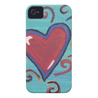 赤いハートのコレクション Case-Mate iPhone 4 ケース