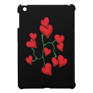 赤いハート iPad MINIケース