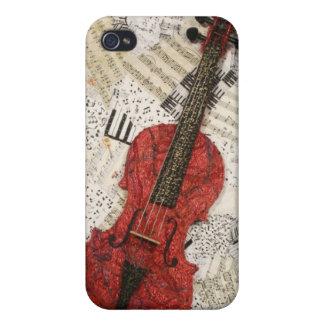 赤いバイオリン iPhone 4 COVER