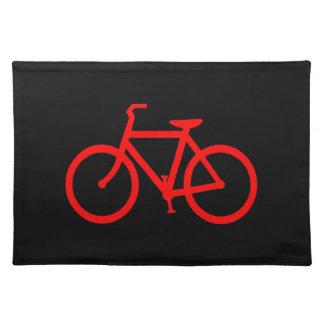 赤いバイク ランチョンマット