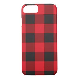 赤いバッファローの点検のiPhone 7の箱 iPhone 8/7ケース