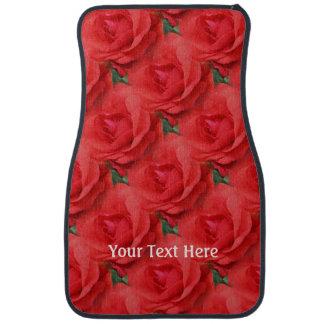 赤いバラによっては名前入りな自然が開花します カーマット