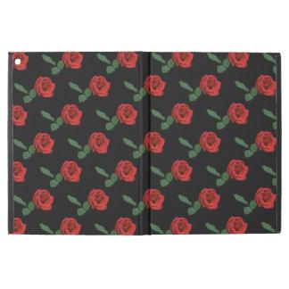 """赤いバラによってはiPadのプロ箱が開花します iPad Pro 12.9"""" ケース"""