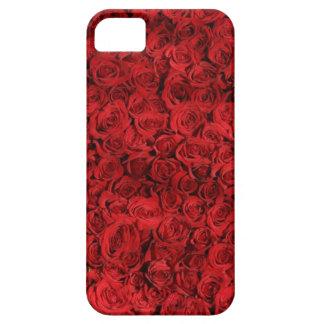 赤いバラの粉砕 iPhone SE/5/5s ケース