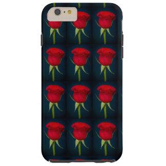 赤いバラの美しいイメージのiphone tough iPhone 6 plus ケース