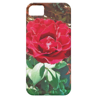 赤いバラの花園 iPhone SE/5/5s ケース