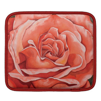 赤いバラの花 iPadスリーブ