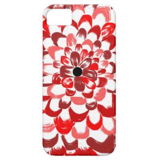 赤いバラの電話箱 iPhone SE/5/5s ケース