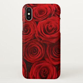 赤いバラのiPhoneX iPhone X ケース
