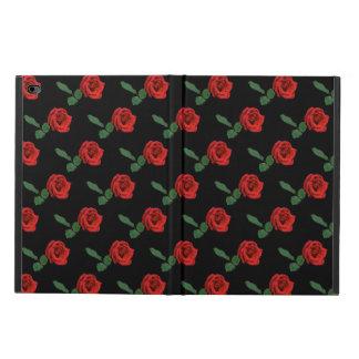 赤いバラのPowisのiPadの空気2箱 Powis iPad Air 2 ケース