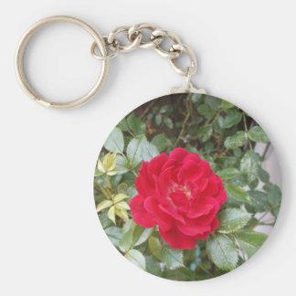 赤いバラ キーホルダー
