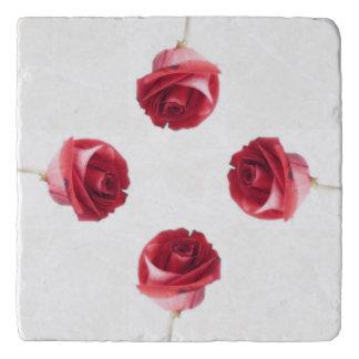 赤いバラ トリベット