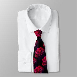 赤いバラ ネクタイ