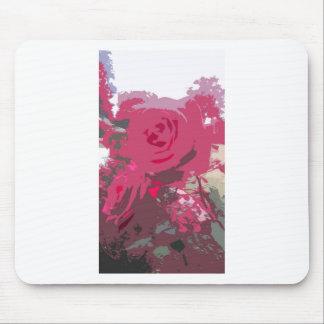 赤いバラ マウスパッド