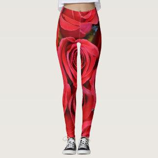 赤いバラ-ヨガによってはeZaZZleMan.comでレギンスが喘ぎます レギンス
