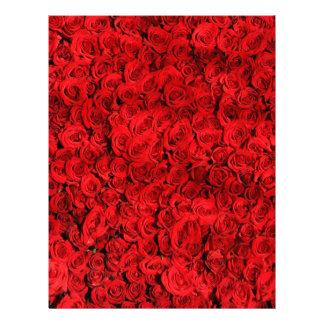 赤いバラ レターヘッド