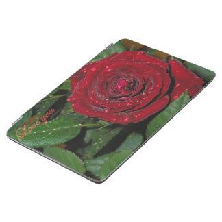 赤いバラ#2 iPad AIR カバー