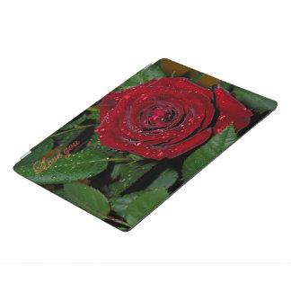 赤いバラ#2 iPad PROカバー