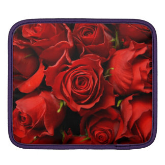 赤いバラ iPadスリーブ