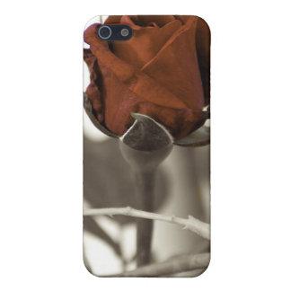 赤いバラ iPhone 5 CASE