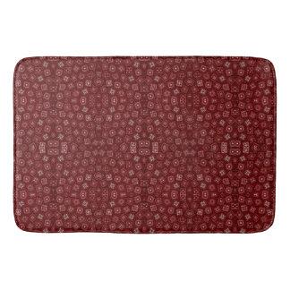 赤いバンダナ バスマット