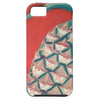 赤いパイナップル iPhone SE/5/5s ケース