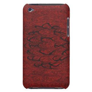 赤いパターン Case-Mate iPod TOUCH ケース