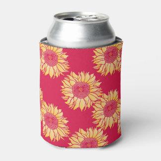 赤いヒマワリCoozy 缶クーラー
