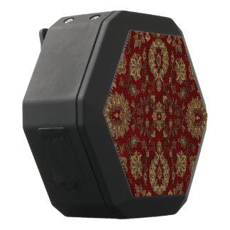 赤いペルシャの深紅のアラベスクのタペストリー ブラックBluetoothスピーカー