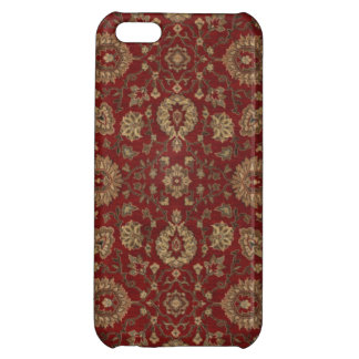 赤いペルシャの深紅のアラベスクのタペストリー iPhone5Cケース