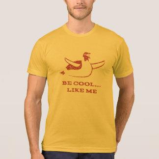 赤いペンギンのTシャツ Tシャツ