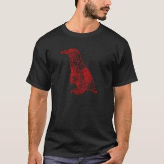 赤いペンギン Tシャツ
