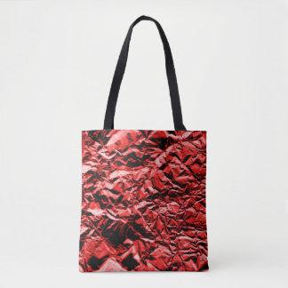 赤いホイル#2 トートバッグ